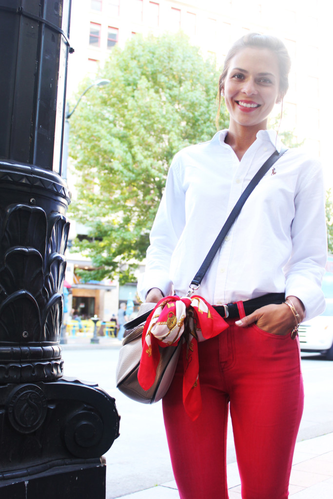 Red Pants 7
